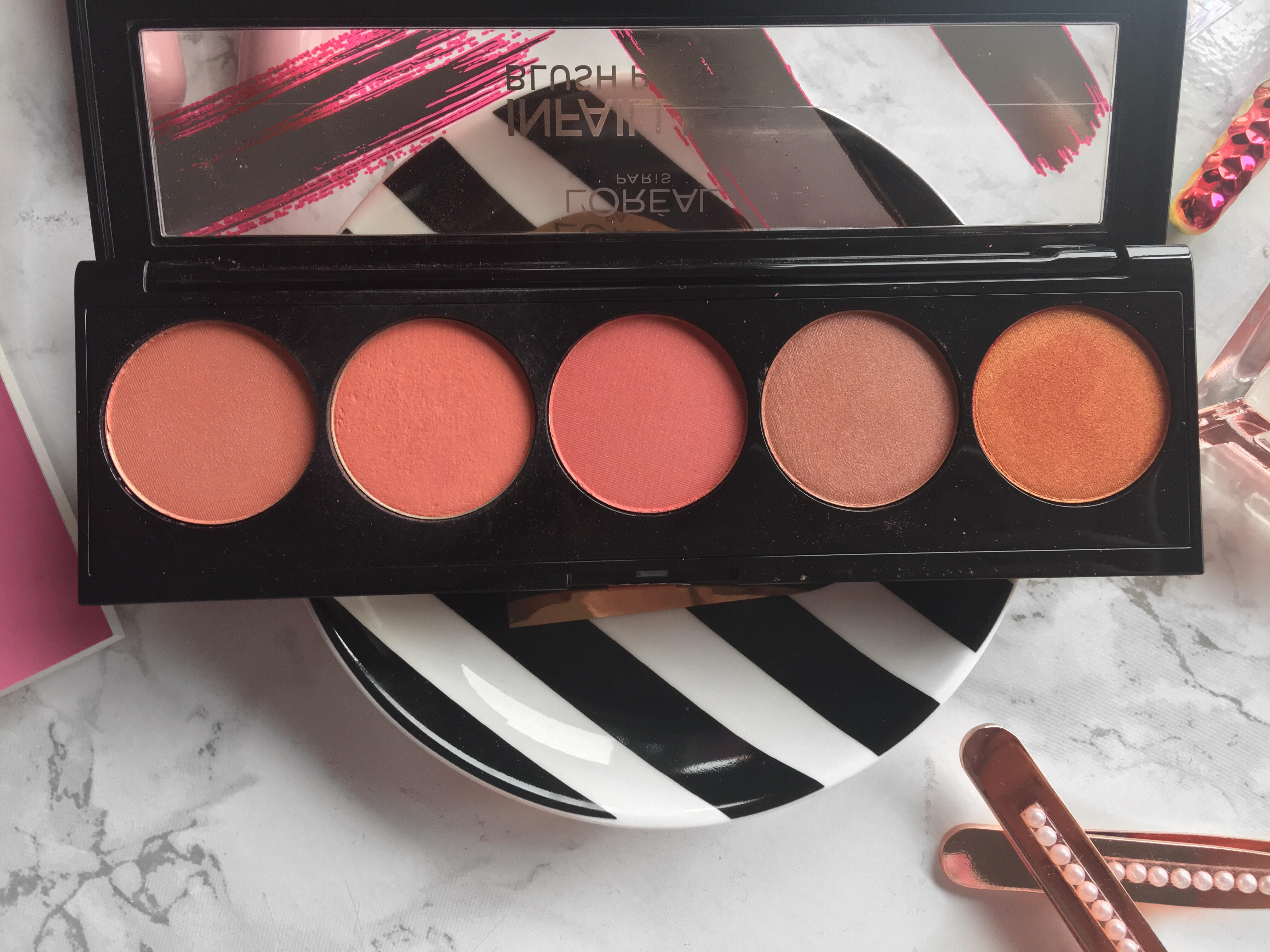 Infallible Paint Blush Palette by L'Oreal #19