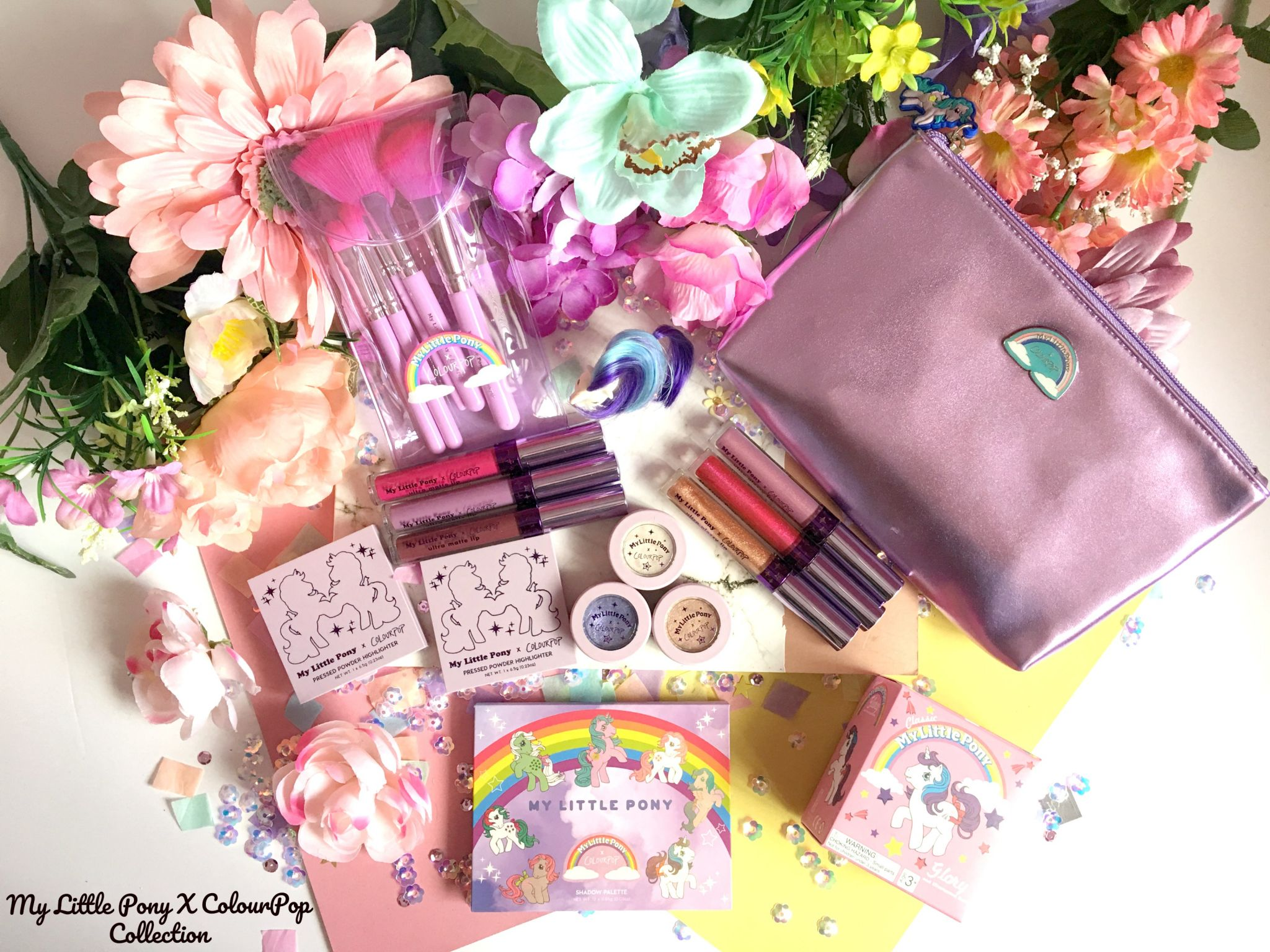 My Little Pony x ColourPop Collection