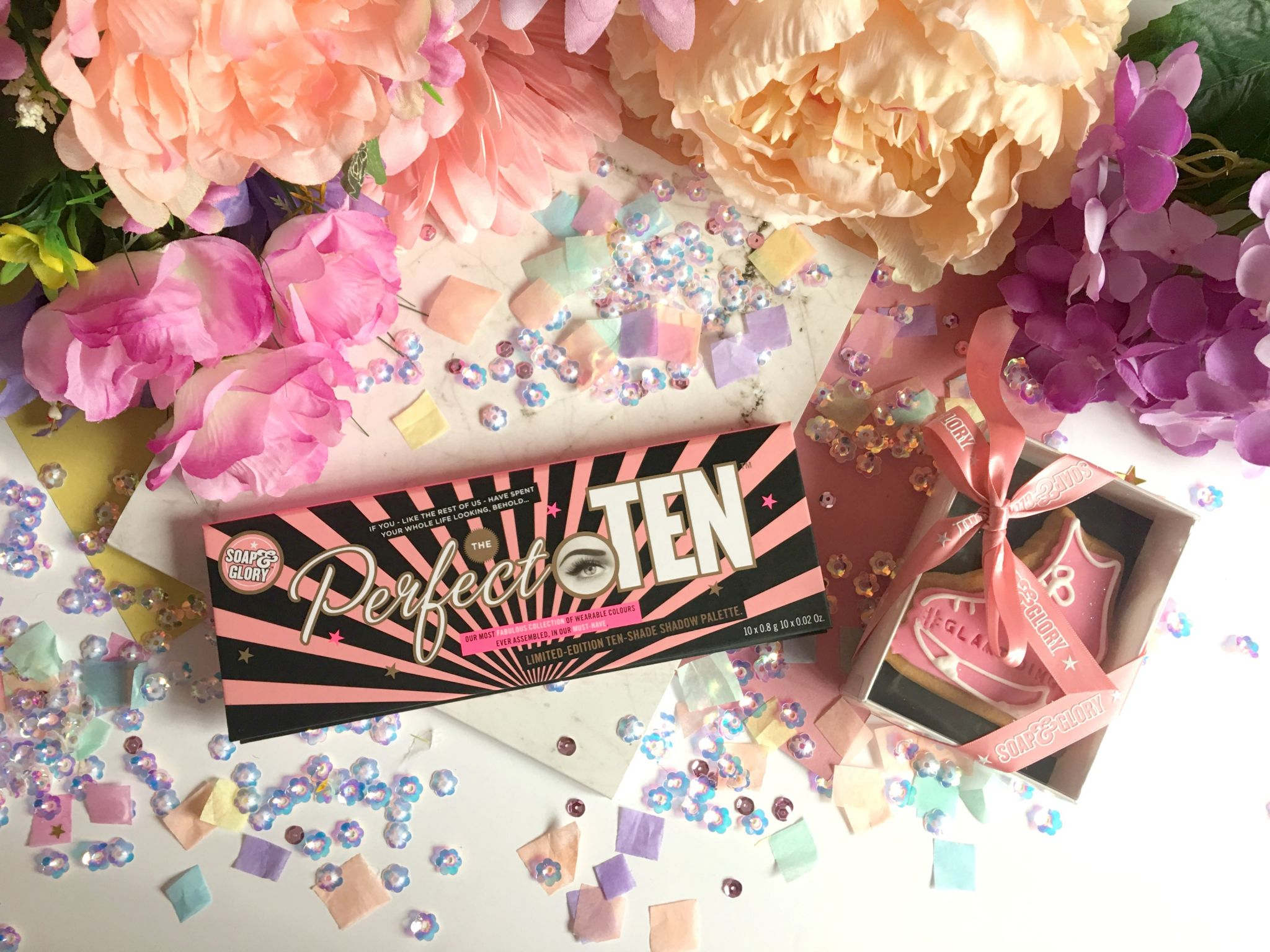 Soap & Glory THE PERFECT TEN Palette