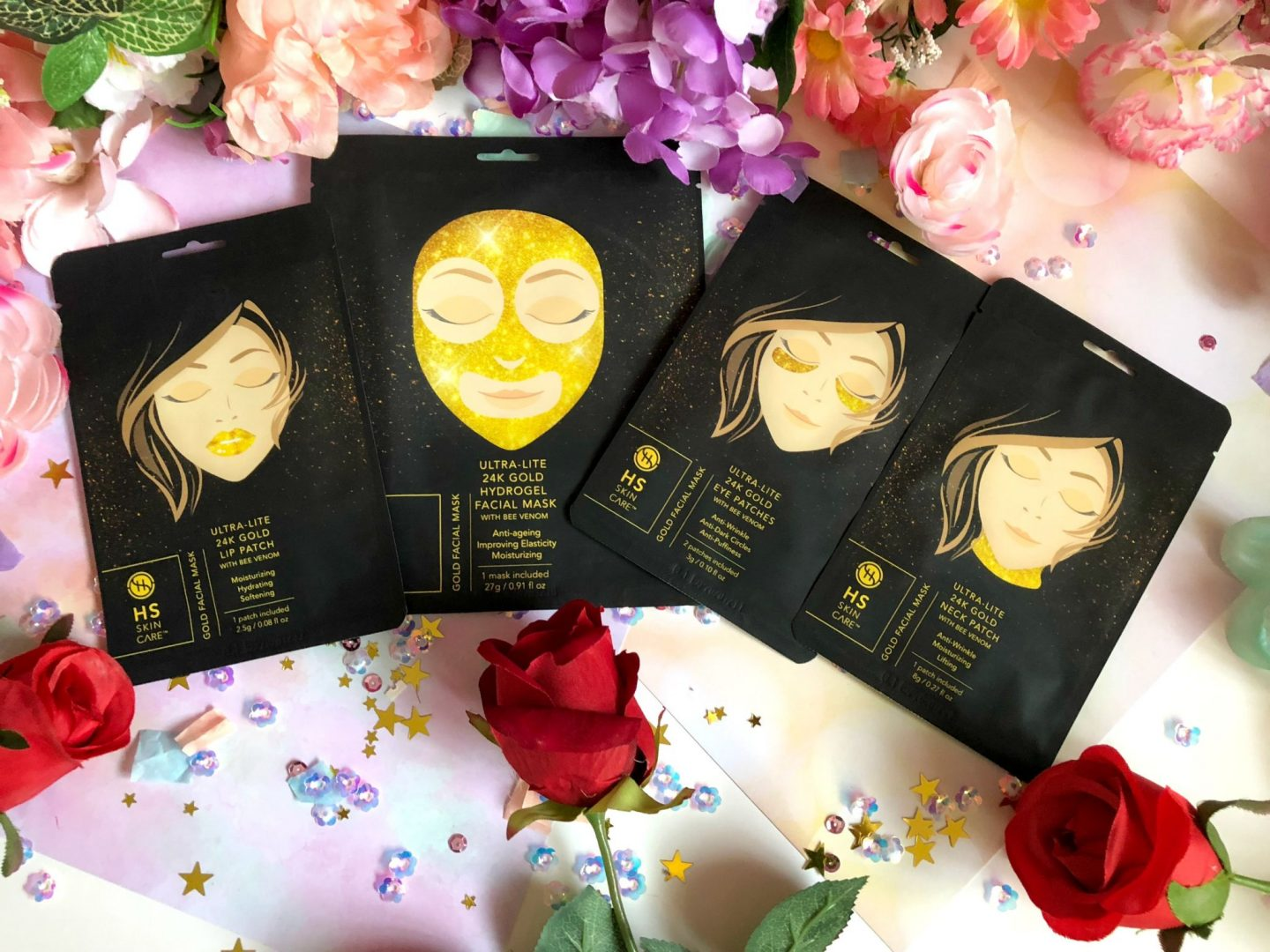 Happy Skin 24K Gold Collection Christmas Gift Guide
