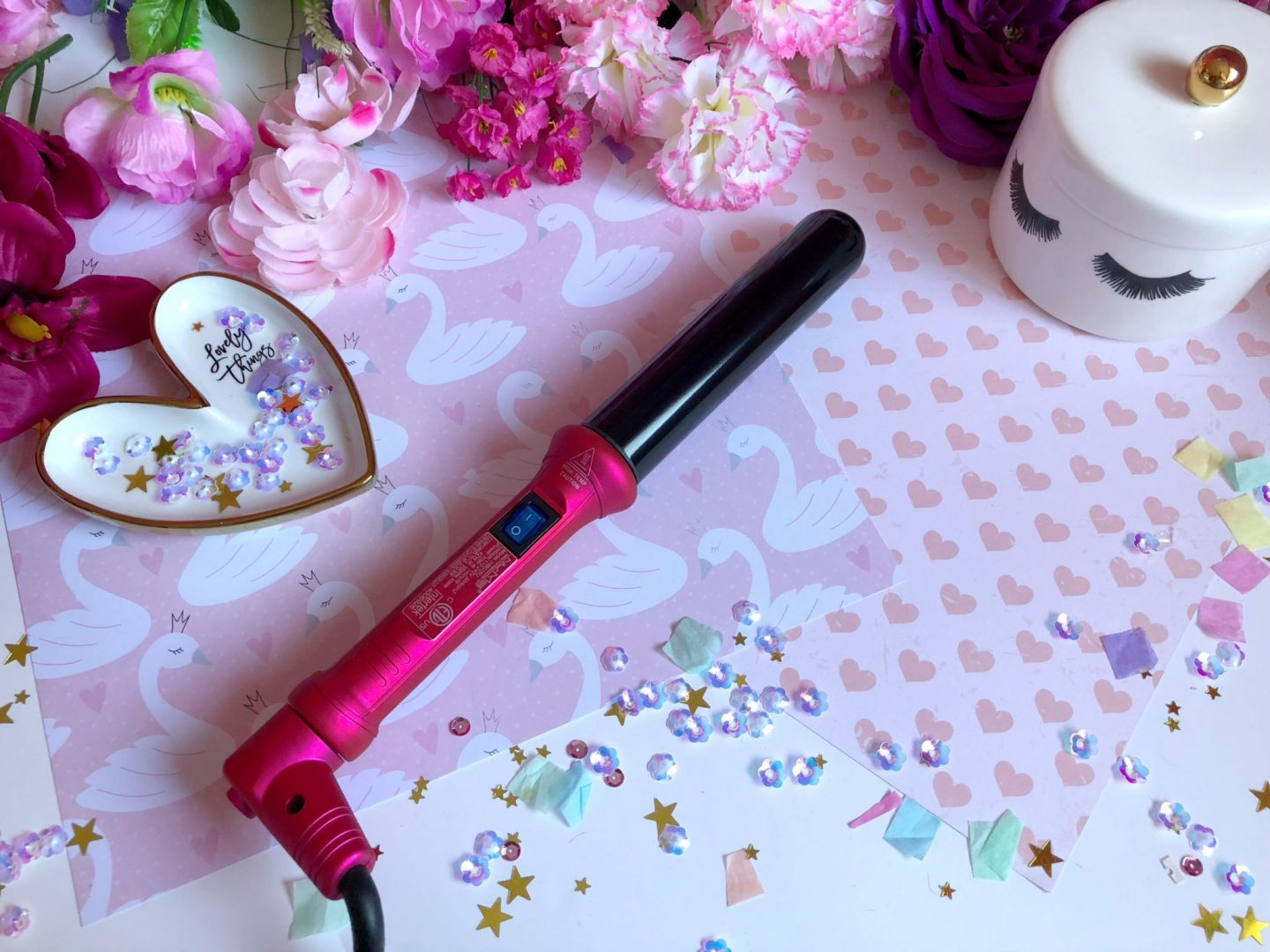 Nume Classic Wand 32mm   Hot Pink