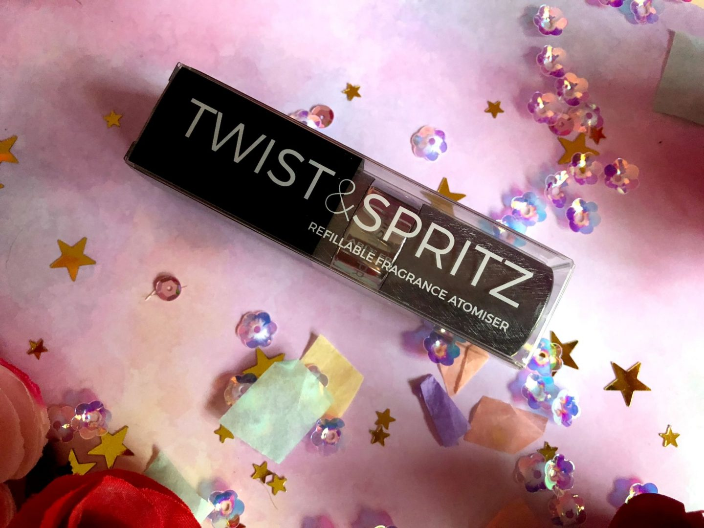 Twist & Spritz Refillable Atomiser Spray
